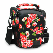 Portable DSLR Camera Case Bag with Top Loading accessibility