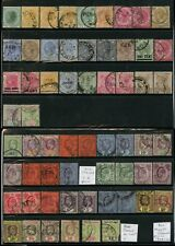MALAYA STRAITS SETTLEMENTS 1867-1936 GOOD to FINE USED 140 stamps