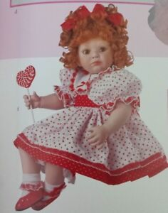 COA #1758 NEVER REMOVED FROM BOX MARIE OSMOND I LOVE YOU LOLLI PORCELAIN DOLL