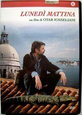 Dvd Lunedì mattina di Otar Ioseliani 2002 Usato raro fuori cat.