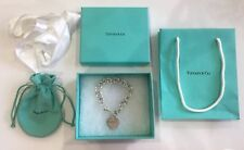 Authentic Tiffany And Co Heart Tag Charm Bracelet