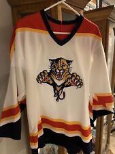 Vintage CCM Maska Florida Panthers NHL Hockey Jersey Size L