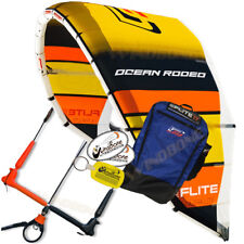 New Gen5 Ocean Rodeo Flite 17M Kiteboarding Light Wind Kite Complete w Bar Set