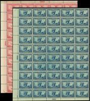649-50, VF Mint NH Sheets of 50 Stamps Brookman $635.00 - Stuart Katz