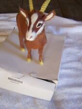 StealStreet Furry Nanny Goat Collectible Decoration Model New RARE, RETIRED