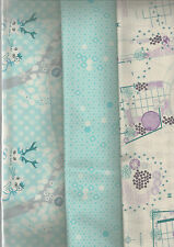 CLEARANCE - Highlands, half metre bundle - 3 fabrics cotton - 50 x 110 cms each