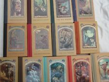 LEMONY SNICKET - THE 13 VOLUMES OF A SERIES OF UNFORTUNATE EVENTS - 1st EDITIONS