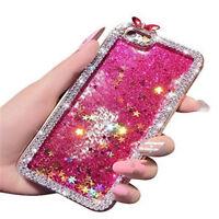 Bling Glitter Liquid Diamond Crystal Case Cover Skin For Apple iPhone 5 5s 6 7 8