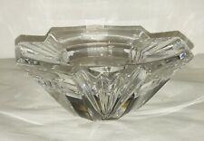 """Lenox Lead Crystal Pillar Candle Holder with 3"""" opening Weighs 4 lbs"""
