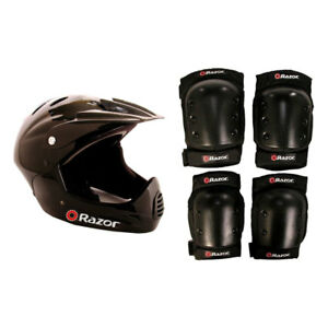 Full Face Riding Sport Scoot eesyt and Knee Pads