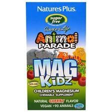 MagKidz, Children's Magnesium, Natural Cherry Flavor 90 Animals - nature's Plus