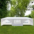 Upgrade 8 Side Wall 10'x 30'Canopy Party Wedding Tent Gazebo Pavilion 2 Door 8