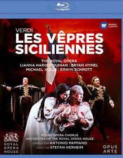 Verdi: Les vepres siciliennes [Blu-ray], New DVDs