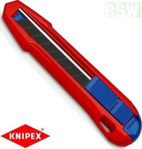 KNIPEX CutiX Universalmesser Messer Cuttermesser 90 10 165 Neuheit Kabelmesser
