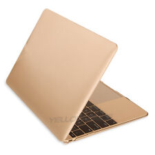Ultra Slim Matte Gold Hard Case Cover for Apple Mac Macbook 12inch--2015 Release