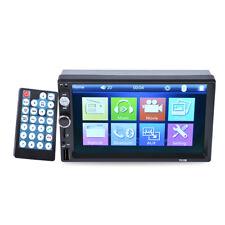 "800x480 HD 2 DIN Bluetooth USB/TF/FM 7 "" Car Stereo MP3 MP5 Player Touch Radio"