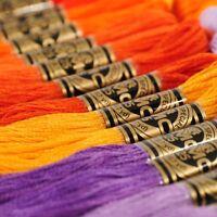 100 DMC Stickgarn Moulinégarn Art 117 Wählen Sie Ihre Farbe VERSANDKOSTENFRE G