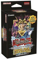 YUGIOH-MOVIE PACK ORO Edition-Special Edition (1 box) - tedesco