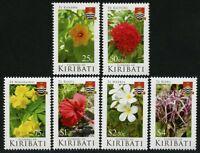 Kiribati 2017 Blumen Blüten Pflanzen Natur Flora Flowers Blossoms Postfrisch MNH