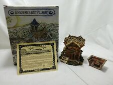 Boyds Public Library Boyds Bearly Built Villages Collection Nib