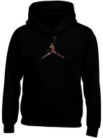 Gym Jordan Lifestyle Personalised Hoodie Workout Mens Gift Basketball Sports