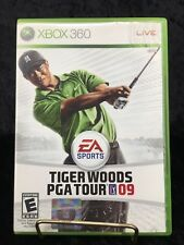 Pre Owned Tiger Woods PGA Tour 09 EA Sports Xbox 360 Live