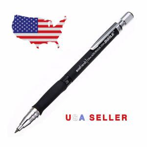 (5) 2.0mm Lead Holder Mechanical - Drafting Clutch Pencil crafts Carpenter  2mm