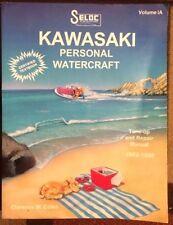 Seloc Kawasaki Personal Watercraft Repair Manual 1992 -1998