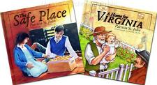 NEW Patricia St. John Storybook SET of 2 A Home for Virginia The Safe Place Hdbk