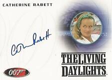 "James Bond 50th Anniversary - A168 Catherine Rabett ""Liz"" Autograph Card"