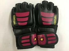 Century Women's Brave Open Palm MMA Training Bag Gloves - Black/Pink - S/M
