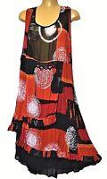 TS dress TAKING SHAPE plus sz S / 16 'Bossa Nova' semi-sheer sexy NWT rrp$130!