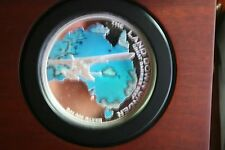 2014 5 oz THE LAND DOWN UNDER GREAT BARRIER REEF 5oz #40/400 SILVER COIN