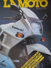 La Moto 1 1987 Prova Kawasaki GPX 750R. Nuova Aprilia TX 311, Beta TR 34 [Q74]