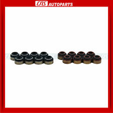 16 Intake Exhaust Engine Valve Stem Seals (Premium Viton) Fits: Hyundai & Others