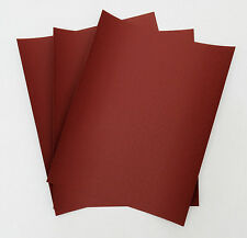 "SANDPAPER Wet or Dry 75 sheets 9""x11"" COMBO 220/400/800 Grit  RHYNOWET RED LINE"