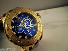 Invicta Reserve Men's Subaqua Specialty Swiss Chrono 18K GP SS Poly Strap Watch!