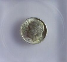 1953-S ROOSEVELT SILVER 10 CENTS ICG MS67