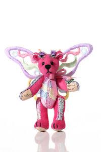 "World of Miniature Bears By Theresa Yang 2.75"" Butterfly Flutterfire #1032PK"