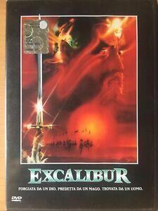 Sean Connery-Excalibur dvd COME NUOVO originale 1 Edizione Warner Amaray