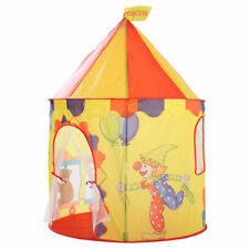 Kids Play Tent Clown Bear Castle Indoor Outdoor Park Garden Children Playhouse