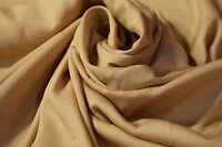 """Craft Apparel Quilt Fabric Beige Tan Solid Color By The Yard 45"""" Wide #17"""