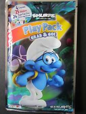 Smurfs The Lost Village Play Pack 24 Page Coloring Bk 25 Stickers 4 Crayons New!