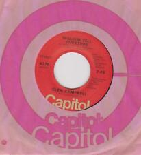 GLEN CAMPBELL  SP PROMO FRANCE WITH SOUTHERN NIGHTS/WILLIAM TELL OVERTURE