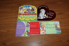 5 Religious Board Books Lot Valentine Easter Noah Story of Prayer Pingry