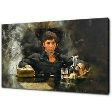 AL PACINO TONY MONTANA SCARFACE CANVAS PICTURE PRINT WALL ART FREE FAST DELIVERY