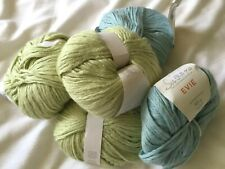 New listing 5 Balls Sublime Evie in 2 Shades 126 yds Aran