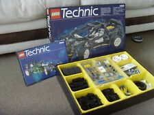 LEGO TECHNIC SUPER CAR 8880 WITH ORIGINAL BOX AND INSTRUCTION BOOKLET