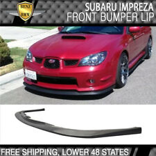 Fit For Subaru Impreza Wrx 2006-2007 4Dr 4Door Sti V Limited Style Front Lip (Fits: Subaru)