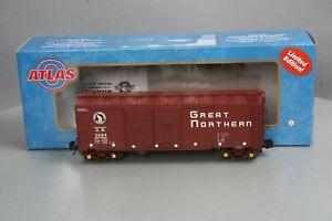 Atlas 8725 40' 1937 Great Northern Double Door Boxcar # 3484 [3Rail] NIB